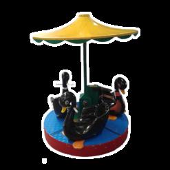 a-swan-carousel-kiddie-rides